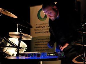 Jesse Stewart performing