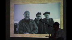 screen shot at panel presentation
