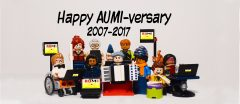 AUMI anniversary lego