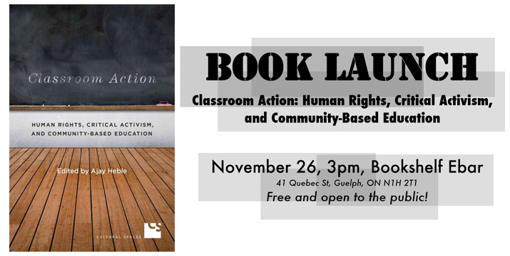 classroom action book launch slide