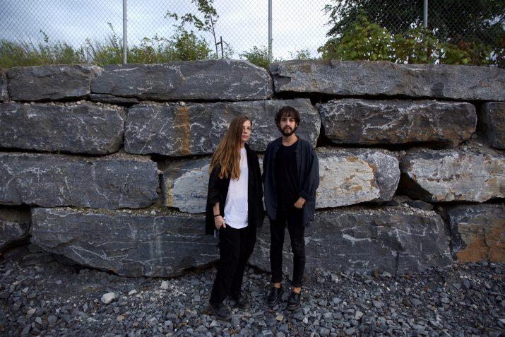 Jen Reimer and Max Stein