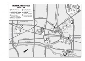 Sounding the City Installations map