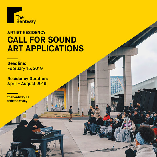 bentway call poster 2019