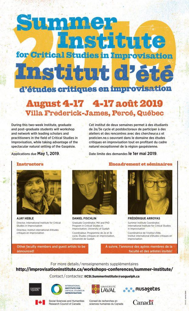 summer institute 2019 web poster