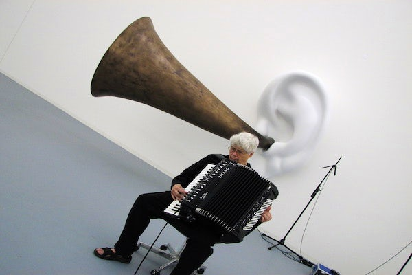 pauline oliveros day discovery green promo photo