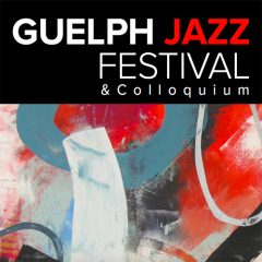 Guelph Jazz Festival and Colloquium image of a painitng and text