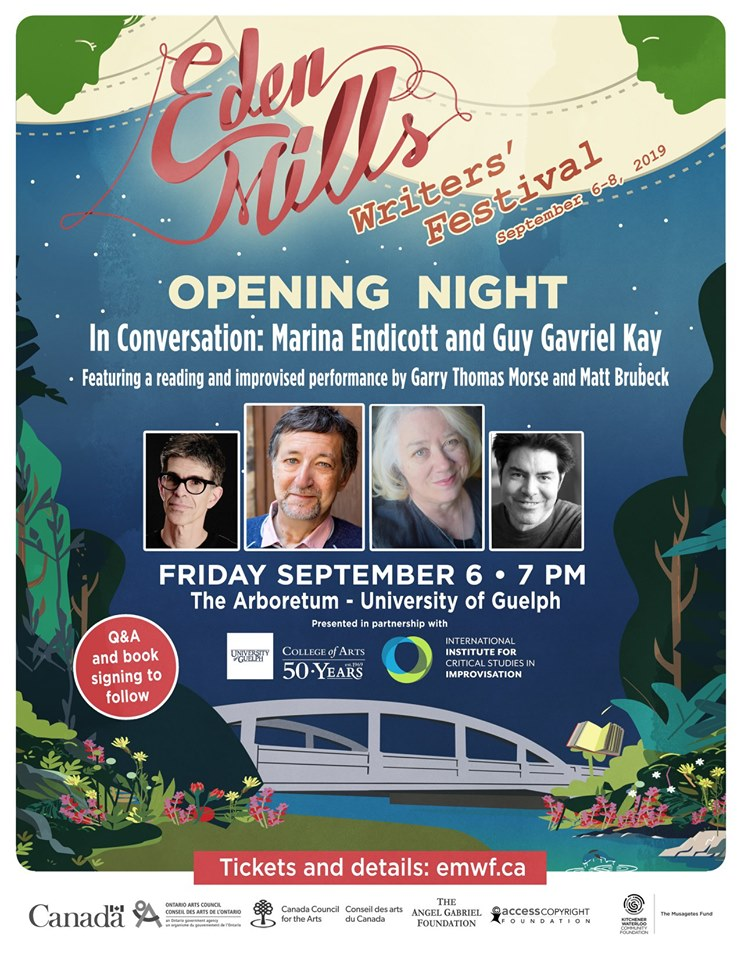 eden mills opening night poster