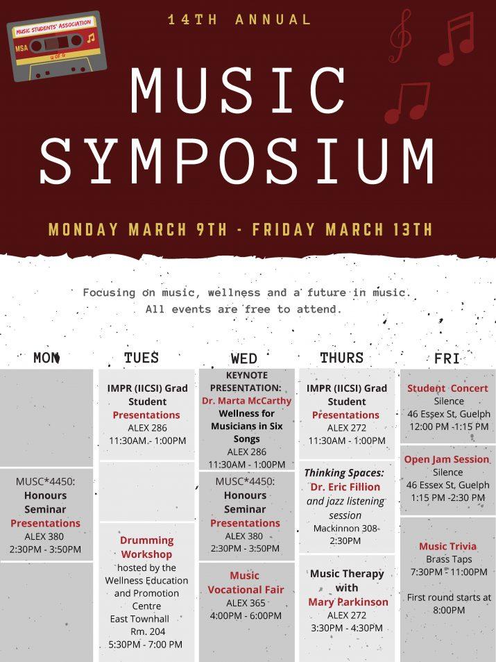 music symposium poster 2020