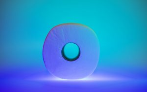 photo of toilet paper on a light table
