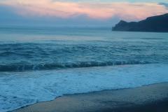 sun rise in Gaspe