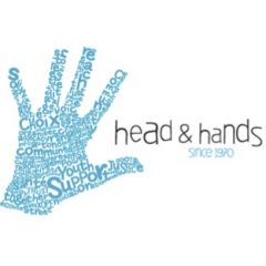 head and hands logo