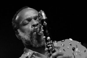 Douglas R. Ewart performing