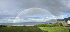 rainbow at MILE camp