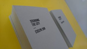 sounding the city book cover