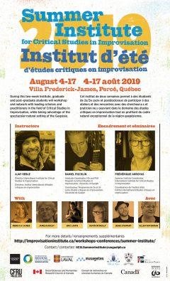 Summer Institute 2019 poster