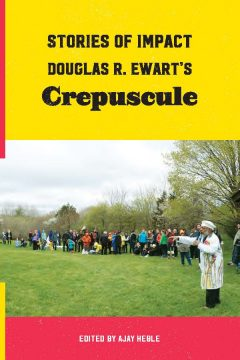 Crepuscule catalogue cover with Douglas R. Ewart on the cover