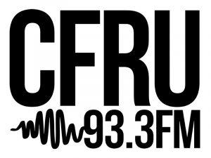 CFRU Radio logo