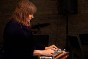 Susan Alcorn performing