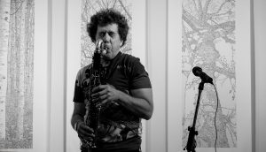 David Rothenberg performing at Silence at the Guelph Jazz Festival Colloquium