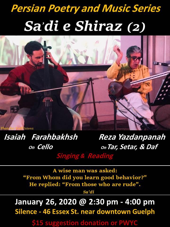 Persian Poetry and Music By Reza Yazdanpanah