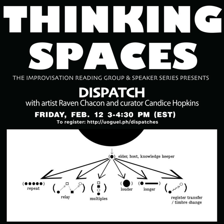 graphic for Thinking Spaces Dispatch
