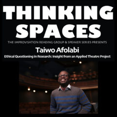 Thinking Spaces 2020-21: Taiwo Afolabi