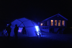 MILE Camp geodesic dome dome